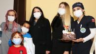 Başkan Yılmaz'dan, Kanser Hastası Berkay'a Sürpriz Doğum Günü Hediyesi
