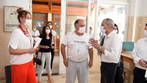 Başkan Bozdoğan Koronavirüs Tedbirleri Denetimlerine Katıldı