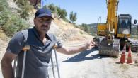 Büyükşehir', Gülnar'da Aşırı Yağışların Bzduğu Yolu Onarıyor
