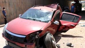 Kontrolden Çıkan Otomobil Köprüden Düştü: 1 Ölü, 2 Yaralı