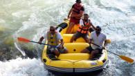 Tarsus Şelalesi'nde İlk Rafting