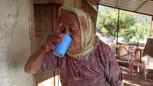 80 Yaşındaki Emiş Teyze'nin Su Hasreti Sona Erdi