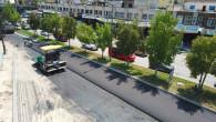 Büyükşehir'den Turgut Özal Bulvarı'nda Sıcak Asvalt Çalışması