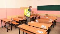 Toroslar'da Okullar Yeni Eğitim Ve Öğretim Sezonu Öncesi Dezenfekte Edildi