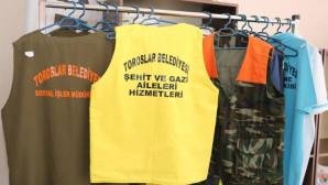 Belediye Personelinin Üniformaları TORTEK Atölyelerinde Üretiliyor
