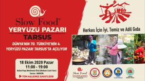 Dünyanın 70. Türkiye'nin 4. Yeryüzü Pazarı Yarın Tarsus'ta Açılıyor
