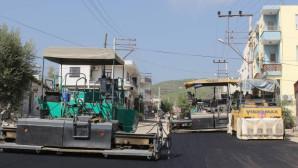 Büyükşehir, Silifke'de Asfalt Çalışmalarına Devam Ediyor