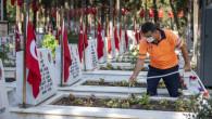 Kent Genelinde Mezarlık Çalışmaları Sürüyor