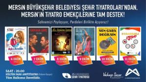 Mersin Büyükşehir Belediyesi'nden Yerel Tiyatrolara Destek