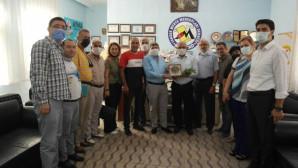 Mhp Yeni İlçe Yönetimi Medyad'ı Ziyaret Etti