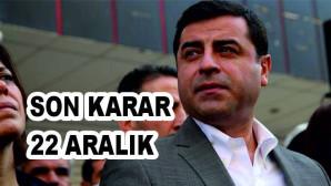 AİHM Büyük Dairesi, Selahattin Demirtaş hakkındaki kararını 22 Aralık'ta açıklayacak