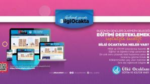 """Dijital Eğitim ve Kültür'ün Yeni Adı; """"Bilgi Ocakta"""""""