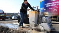 Büyükşehir'in Makina İkmal Sahası Yenileniyor