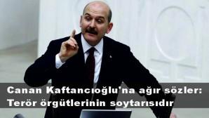 Bakan Soylu'dan Boğaziçi eylemlerine katılan Canan Kaftancıoğlu'na ağır sözler: Terör örgütlerinin soytarısıdır