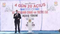 """Başkan Bozdoğan , """"Her Bir Okuma Salonu Bir Cezaevi Kapatır"""