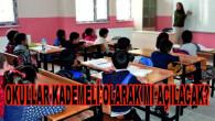 Milli Eğitim Bakanı Ziya Selçuk: Yüz yüze eğitim kademeli olarak başlayacak