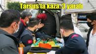 Tarsus'ta D-400'de zincirleme kaza: 3 yaralı