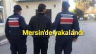 Dolandırıcılık suçundan aranan şahıs Mersin'de yakalandı