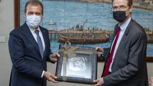Başkan Seçer, Ab Tütkiye Delegasyonu Başkanı Büyükelçi Nıkolaus Meyer-Landrut'u Ağırladı
