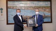 Danimarka'nın Ankara Büyükelçisi Annan, Başkan Seçer'i Ziyaret etti