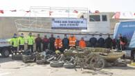 Büyükşehir, Denizden 2 Haftada 25 Metreküp Atık Çıkardı