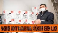 Mersinli Esnafın Pandemide Destek Kapısı Büyükşehir Oldu