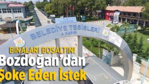 """Tarsus Belediyesi'nden Akıllara Durgunluk Veren İstek; """"Binaları Boşaltın"""""""