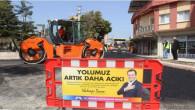 KAZANLI MAHALLESİ ATATÜRK CADDESİ'NDE SICAK ASFALT SERİMİ TAMAMLANDI