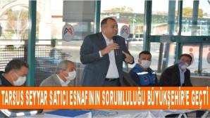 Büyükşehir Zabıta Dairesi, Tarsus'taki Seyyar Satıcıları Bilgilendirdi