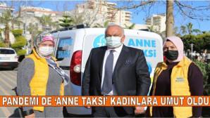 """Pandemi Sürecinde """"Anne Taksi"""" Kadınlara Umut Oldu"""