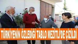 Türkiyenin Özlediği Tablo Mezitlide Çizildi