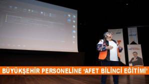 AFAD Ekibinden Büyükşehir Personeline 'Afet Bilinci Eğitimi'