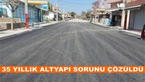 Tarsus'ta Cemal Gürsel Caddesi'nin 35 Yıllık Altyapı Sorunu Çözüldü