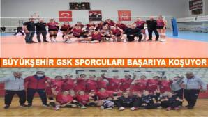 Mersin Büyükşehir GSK Sporcuları Başarıya Koşuyor