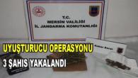 Uyuşturucu Operasyonu. 3 Kişi Yakalandı