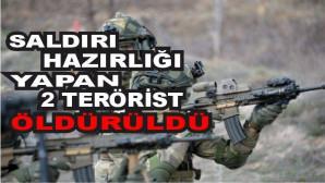 Zeytin Dalı bölgesinde 2 terörist öldürüldü