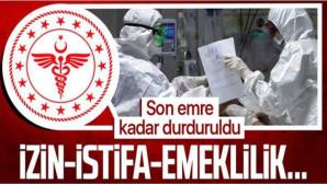 Sağlık Bakanlığından esnek mesai ve idari izin genelgesi