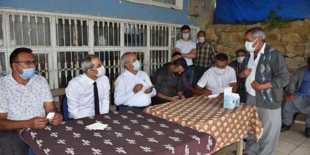 Tarsus Belediyesi, Dolu Yağışının Yaralarını Sarıyor