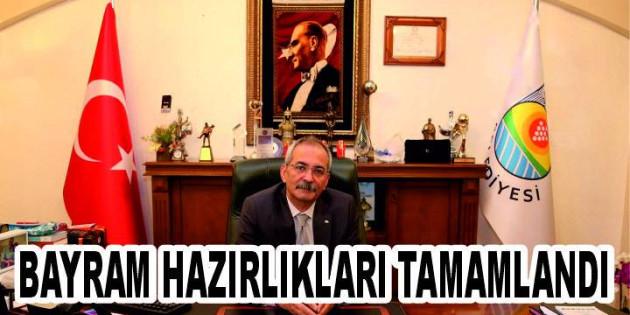 Tarsus'ta Bayram Hazırlıkları Tamamlandı