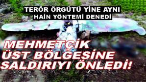 TSK'nın üs bölgesinePKK'nın maket uçak saldırısı önlendi! 1 terörist etkisiz
