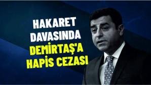Selahattin Demirtaş, eski Ankara Cumhuriyet Başsavcısı'na yönelik sözlerinden dolayı 2 yıl 6 ay hapis cezası aldı