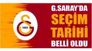 Galatasaray'da başkanlık seçiminin tarihi belli oldu