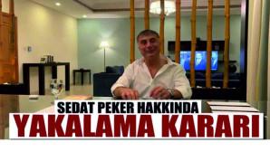 Sedat Peker hakkında yakalama kararı!