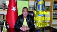 Tarsus İdmanyurdu Başkanı Kırbıyık, futbolcuların tüm alacaklarını ödedi
