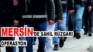"""Organize suç örgütlerine yönelik """"Sahil Rüzgarı Operasyonu"""" 8 ilde 171 şüphelinin yakalanması için başlatıldı"""