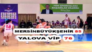 Büyükşehir Kadın Basketbol Takımı, Yalova Vip'i 85-76 Yendi
