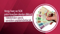Vergi, harç ve SGK prim borçları olanlar dikkat! TBMM'den geçti, yeniden yapılandırılacak