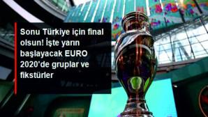 Sonu Türkiye için final olsun! Yarın başlayacak EURO 2020'de gruplar ve fikstürler belli oldu.