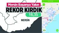 Türkiye Genelinde 100 Bin Kişiye Düşen Koronavirüs Vaka Sayısında Mersin Sonlarda Yer Aldı