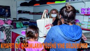 Büyükşehir, Kıyafet Evi İle Çocukların Yüzünde Tebessüm Yaratıyor
